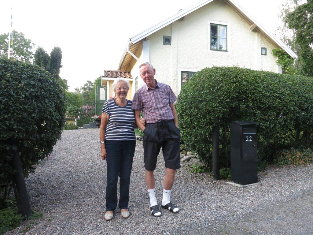 Ingrid och Frank Söderström 2015.