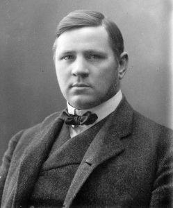 En ung Sigfrid Edström